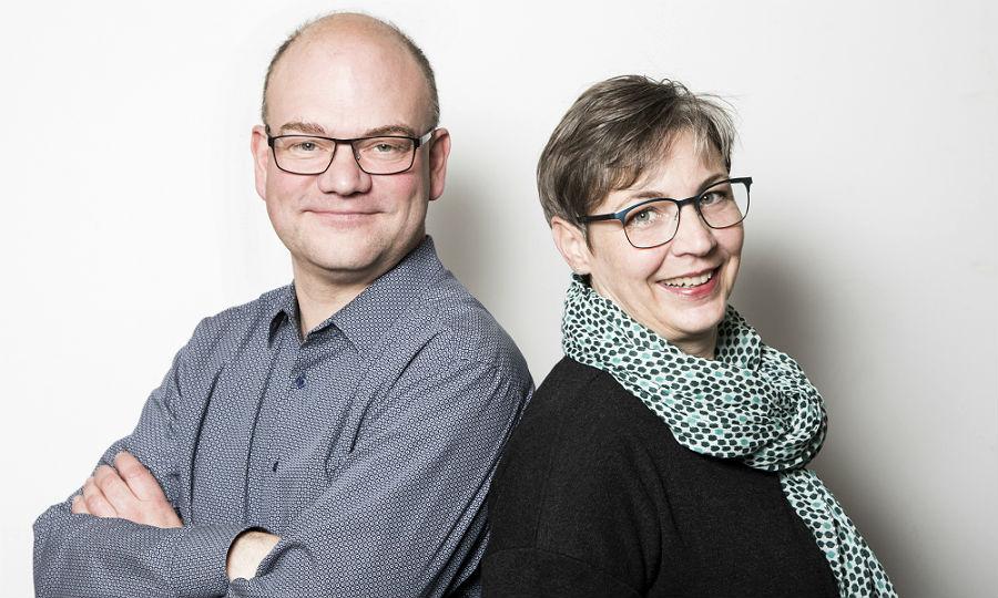 Monika und Berhard Wolf von Optik Wolf in Bensberg