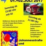 Johannesstraße und Schlade laden zum Straßenfest