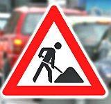 Baustelle bremst Verkehr auf der Bensberger Straße