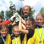 Juniorinnen des 1. FFC gewinnen zwei Pokale