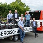 Der Bergische Wanderbus setzt auf Zweiräder