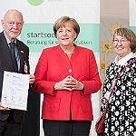 MiKibU im Kanzleramt von Angela Merkel geehrt
