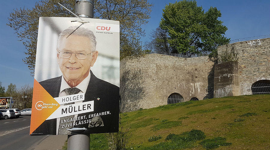 Holger Müller tritt für die CDU bei der Landtagswahl im Wahlkreis 21 an
