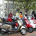 Nostalgie auf 2 Rädern: 25 Jahre Vespa Club