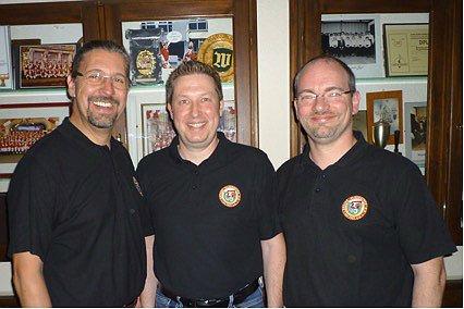 Axel Müller, Frank Haag und Alexander Pfister