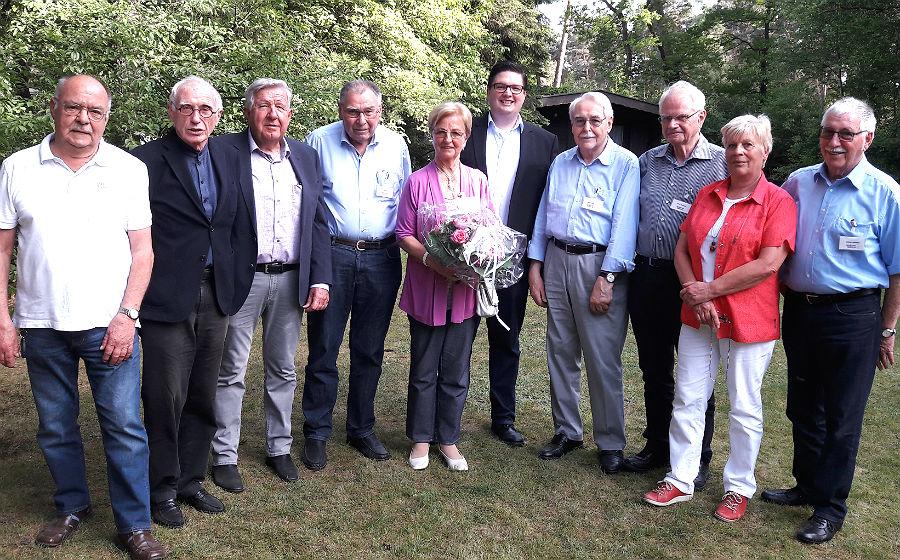 Der neue Vorstand der Seniorenunion Bergisch Gladbach