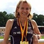 Monika Gippert ist zweifache Deutsche Seniorenmeisterin