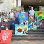 Graffiti-Projekt der DRK-Kindertrauergruppe