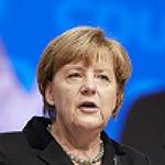 Polizei schützt Merkel-Rede mit einem Großaufgebot