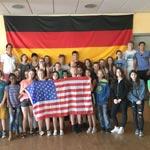Besuch aus USA in Nelson-Mandela-Gesamtschule