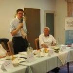 Santelmann stellt sich bei der Seniorenunion vor