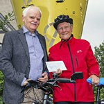 Über 10.000 Kilometer auf dem Fahrrad