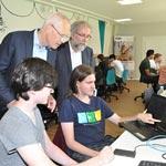 Im Summercamp lernen, eine App zu programmieren