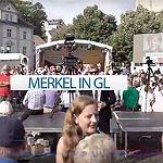 Angela Merkel provoziert Pfiffe, erntet Applaus