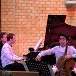 """Rafael und Manuel Lipstein spielen für """"Klänge der Stadt"""""""