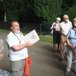 Seniorenunion besucht Melatenfriedhof in Köln