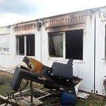 Feuer zerstört Gruppenräume von Flüchtlingsunterkunft