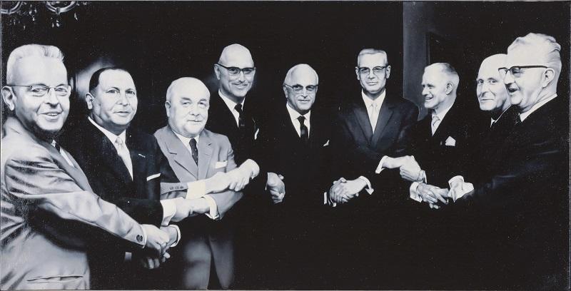 Manfred Boecker, 9 Freunde treffen sich, 1972