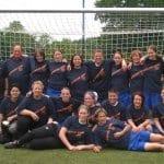 10 Jahre Frauenfußball beim DJK-SSV Ommerborn Sand