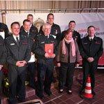 Feuerwehr ehrt Jubilare und stellt neue Führungskräfte vor
