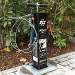 Mobile Nachbarn bieten drei Rad-Service-Stationen an