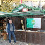 Weihnachtsmarkt: Sozialstand präsentiert soziale Projekte