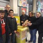 """Rotarier sammelt """"Deckel gegen Polio"""""""
