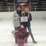 Eissportarena begrüßt den 10.000sten Besucher