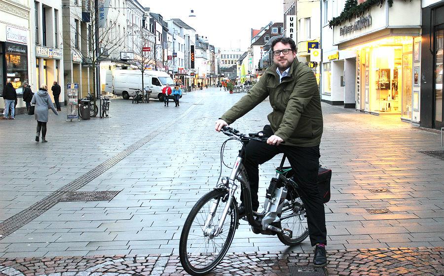 Daniel Euler, Mobilitätsmanager der Stadt Bergisch Gladbach