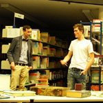 DéJE-vu feiert Premiere in der Bücherei: Lieblingsmenschen