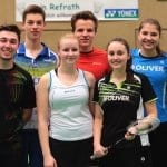 Carla Nelte zum 4. Mal Deutsche Meisterin im Damendoppel