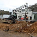 Sanierung des Betriebshofes Obereschbach geht voran