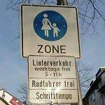 Radeln in der Fußgängerzone: Miteinander läuft's