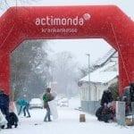 Run white: Königsforst-Marathon vom Schnee überrascht