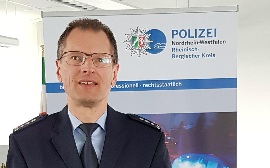 Norbert Wette, Leiter der Wache Bergisch Gladbach der Kreispolizei RheinBerg