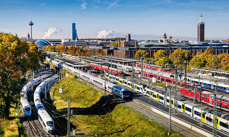 Die Vison: So soll der Knoten Köln nach dem Ausbau 2030 aussehen