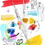 Schulkinder und Kunststudenten gestalten eine Ausstellung