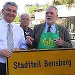 Bensberg feiert Fortschritte – und Georg Daubenbüchel