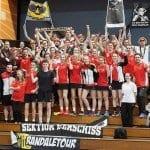 Viel Unterstützung aus GL für die Korfball U19