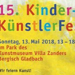 Kinderkünstlerfest am Internationalen Museumstag