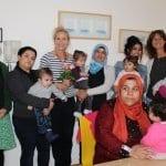 Flüchtlingscafé Ombelico feiert ersten Geburtstag