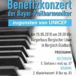 Bayer Philharmoniker spielen für Unicef