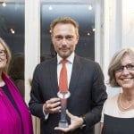 Christian Lindner als bester Wahlkampfredner geehrt