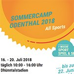 Sommercamp in Odenthal