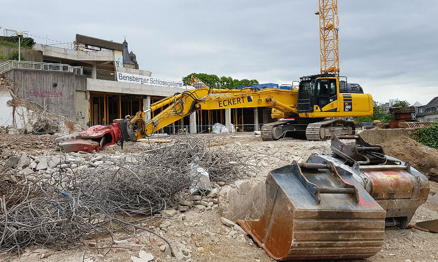 Das neue Einkaufszentrum wird Bensberger Schlossgalerie heißen