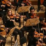 Texas Youth Orchestra in der Kirche zum Frieden Gottes