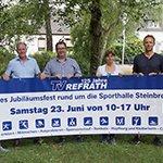 TV Refrath feiert 125. Geburtstag mit großem Fest
