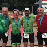"Gladbacher Triathleten ""besiegen"" das Indeland"