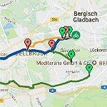 Ein schneller Radschnellweg von GL nach Köln. Schnell