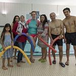 """Geflüchtete lernen Schwimmen mit den """"Neuen Nachbarn"""""""